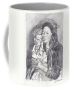 Pakistani Mother And Child Coffee Mug by John Keaton
