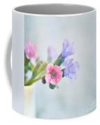 Pale Pink And Purple Pulmonaria Flowers Coffee Mug