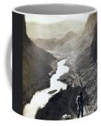Palisades Railroad View - California - C 1865 Coffee Mug