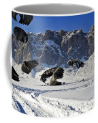 Pallets Of Supplies Land Coffee Mug