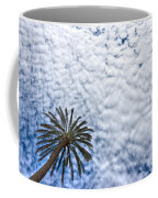 Palm And Dramatic Sky Coffee Mug