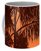 Palm Frond Abstract Coffee Mug