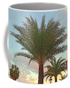 Palm On The Avenida Coffee Mug