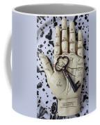 Palm Reading Hand And Key Coffee Mug