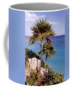 Palm Trees At Tulum Coffee Mug