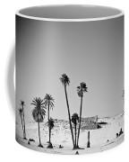 Palm Trees In The Sahara Desert Coffee Mug