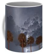 Palms And Lightning 7 Coffee Mug