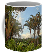 Palms In Costa Rica Coffee Mug