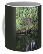 Palms On The River Coffee Mug