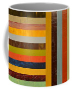 Panel Abstract - Digital Compilation Coffee Mug by Michelle Calkins