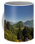 Panorama View Over Mountain Coffee Mug