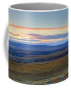 Panoramic At Sunset Along The Dempster Coffee Mug
