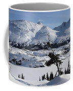 Panoramic Of An Unnamed Mountain Taken Coffee Mug