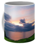 Panoramic View From Dunluce Castle Coffee Mug