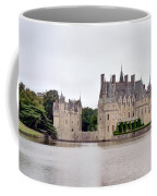 Panoramic View Of Chateau De La Bretesche Coffee Mug