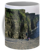 Panoramic View Of Cliffs, Cliffs Of Coffee Mug