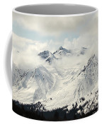 Panoramic View Of Snow-covered St Coffee Mug