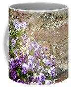 Pansies And Pussywillows Coffee Mug