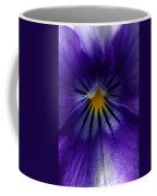 Pansy Abstract Coffee Mug