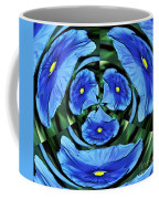 Pansy In Triplicate Coffee Mug