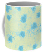 Paper Flowers - Aqua Coffee Mug