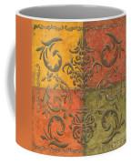 Paprika Scroll Coffee Mug