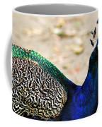 Parading Peacock Coffee Mug
