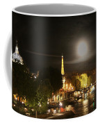 Paris At Night Coffee Mug