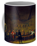 Paris: Billiards, 1725 Coffee Mug