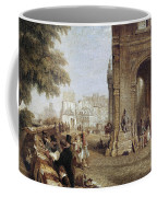 Paris: Book Stalls, 1843 Coffee Mug