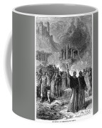 Paris: Burning Of Heretics Coffee Mug