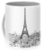 Paris Exhibition, 1889 Coffee Mug