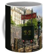 Paris Metro 3 Coffee Mug