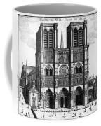 Paris: Notre Dame, 1600s Coffee Mug
