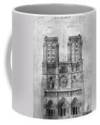 Paris: Notre Dame, 1848 Coffee Mug