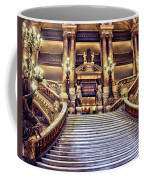 Paris Opera House Vii  Grand Stairway Coffee Mug