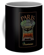 Paris Poster Art 1 Coffee Mug