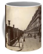 Paris: Rue De Rivoli, C1900 Coffee Mug