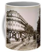 Paris: Street Scene, 1890 Coffee Mug