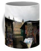 Paris Street Vendor 2 Coffee Mug
