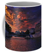 Paris Sundown Coffee Mug