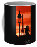 Paris Tour Eiffel Red Coffee Mug