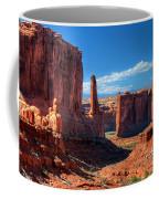 Park Avenue 2 Arches National Park Coffee Mug