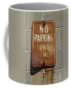Park Here Coffee Mug by Luke Moore