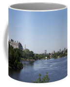 Parliament And Ottawa River  Coffee Mug