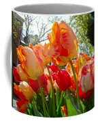 Parrot Tulips In Philadelphia Coffee Mug by Mother Nature