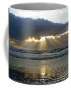 Parting The Heavens Coffee Mug by Pamela Patch