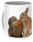 Partridge Pekin Bantam With Rabbit Coffee Mug