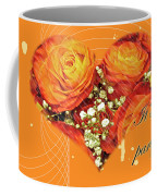 Party Invitation - Orange Roses Coffee Mug