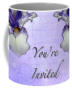 Party Invitation - General - Wild Iris - Blue Flag Coffee Mug